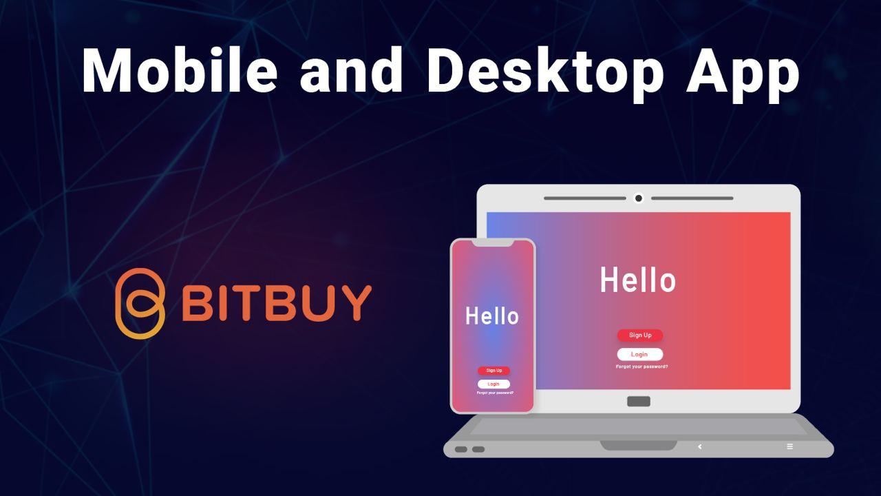Bitbuy's phone & desktop apps quick look